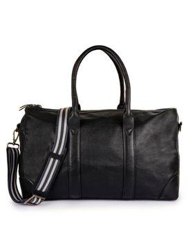 Men's Leather Travel Duffel Bag  - PRM1299