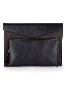 Men's Leather Laptop Sleeve - PRM1308