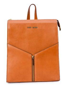 Women's Leather Backpack - PRU1337