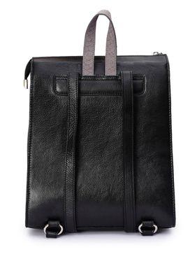 Women's Leather Backpack - PRU1338