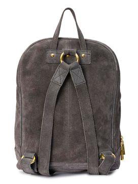 Women's Leather Backpack - PRU1343