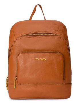 Women's Leather Backpack - PRU1344
