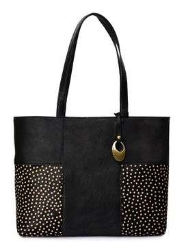 Women's Leather Tote Bag - PRU1347