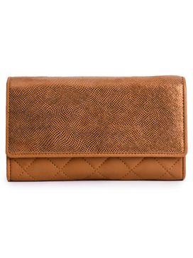Women's Leather Wallet - PRU1369