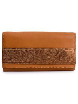 Women's Leather Wallet - PRU1371