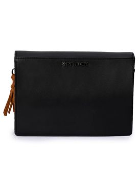 Women's Leather Cross Body Bag - PRU1396