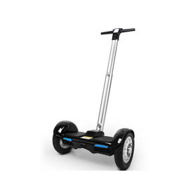 Cloud Surfer Self Balancing Electric Scooter 10 Inch With Handle Black