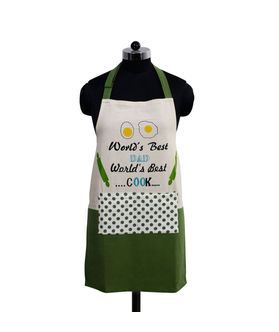 World's Best Dad Apron (Pack of 1) by Fun Club