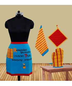 Remember YesterdayBistro Apron (Pack of 4) by Fun Club