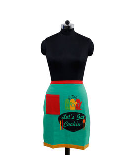 Let's Get Cookin Bistro Apron (Pack of 1) by Fun Club