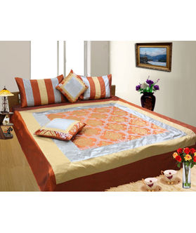 Velvet Printed Duvet Cover Set - Pack of 5 Pcs by Dekor World
