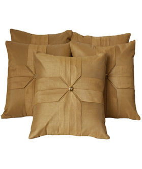 Tie Design Cushion Cover by Dekor World (MORE COLOR & SIZE)