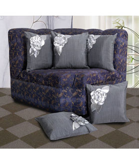 Floral Cushion Cover by Dekor World (MORE COLOR & SIZE)
