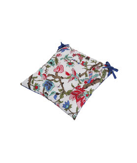Cotton Printed Chair Pad by Dekor World