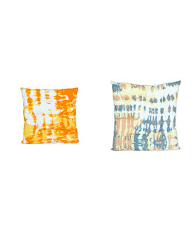 Abstract Printed Cotton Chair Pad (Pack of 1)(More Color)