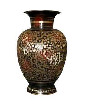 Hand Crafted Flower Vase  1 Pc by Dekor World
