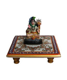 Dekor World Shiva on Marble Chocki