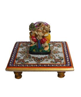 Dekor World Hanuman on Marble Chocki