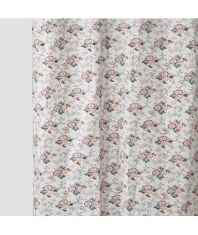 Multi Flower Cotton Fabric by Dekor World