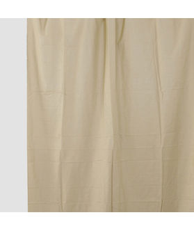 Solid Plain Beige  Cotton Fabric by Dekor World  (MORE COLOR)