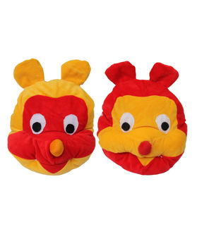 Dekor World Colorful Monkey Pillow (Pack of 2 Pcs)