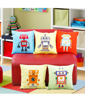 Fun Club Kidz Robert Cushion Collection (Pack of 5 Pcs)