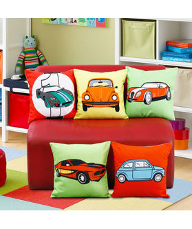 Fun Club Kidz Multi Carz Cushion Collection (Pack of 5 Pcs)