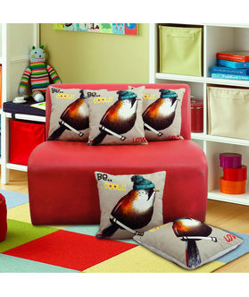 Fun Club Be Cool Love Cushion Cover (Pack of 5 Pcs)