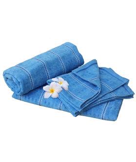 Dekor World Stripe Towel(Set of 4)