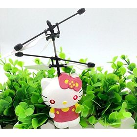 Flying Hello Kitty  Aircraft Induction Control Toy