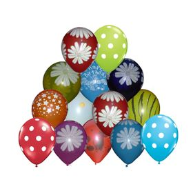 Colorful Large Printed Balloon-Set of 30