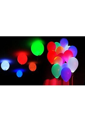 Flashing Disco Light Led Balloons for Parties -30 Pcs