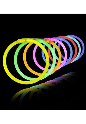 Night Party Glow Sticks Bracelets  -100 Pcs