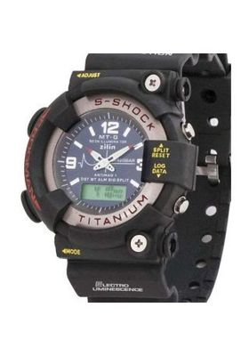 Sports Watch S-Showy Black Dial Round Watch