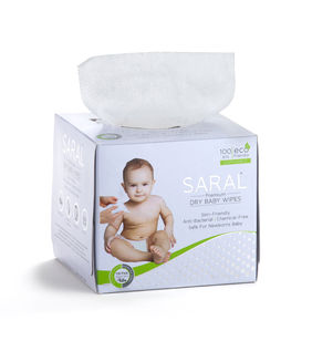 SARAL PREMIUM DRY BABY WIPES - 100 WIPES
