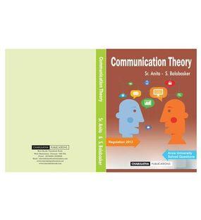 Communication Theory | Sr.Anitaa