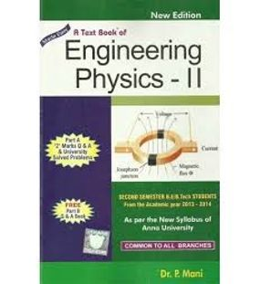 Engineering Physics 2 | P. Mani