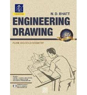 Engineering Drawing : Plane and Solid Geometry | N. D. Bhatt