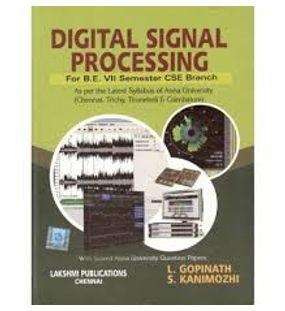 Principles of Digital Signal Processing   L. Gopinath , S. Kanimozhi