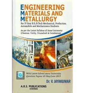 Engineering Materials and Metallurgy | Jayakumar