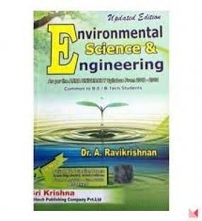 Environmental Science and Engineering | A. Ravikrishnan