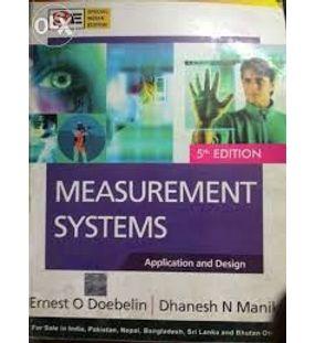 Measurement Systems | Ernest Doebelin, Dhanesh Manik