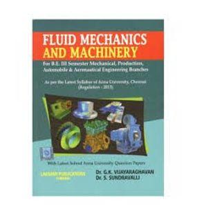 Fluid Mechanics And Machinery | Dr.G.K. Vijayaraghavan