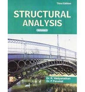 Structural Analysis 1   Dr.R. Vaidhyanathan,Dr.P.Perumal