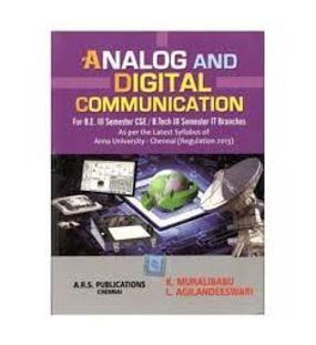 Analog And Digital Communication   K.Muralibabu