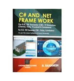 C# And. Net Frame work | N.Rajganesh