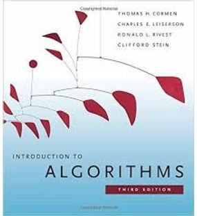 Introduction to Algorithms | Thomas Cormen, Charles Leiserson, Ronald Rivest, Clifford Stein