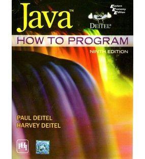 JAVA : How to Program | Deitel and Deitel