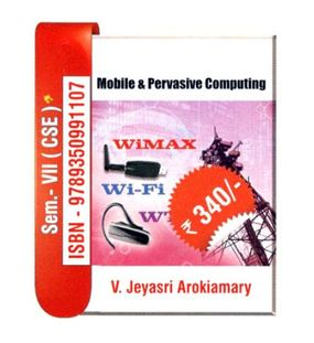 Mobile and Pervasive Computing | V.JeyaSri Arokiamary