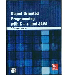 Object Oriented Programming With C++ and Java | E. Balagurusamy